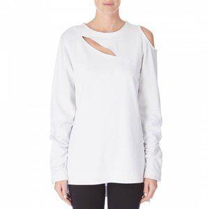 ADIDAS Y-3 Yohji Yamamoto S White Cocoon Sweater